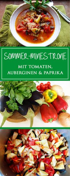 Sommer-Minestrone
