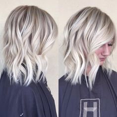 Frosty blonde
