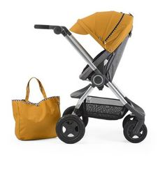 Taxi-ize your stroller. #Stokke