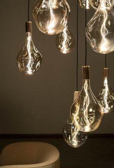 "Tala presents ""world's largest sculptural bulb"" at London Design Festival Home Lighting, Chandelier Lighting, Lighting Design, Brass Lamp, Pendant Lamp, Pendant Light Bulb, London Design Festival, Floor Lamp, Light Fixtures"
