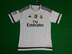 Real Madrid Team, Real Madrid Soccer, Football Shirts, Real Madrid Football