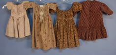 Sweet brown doll dresses