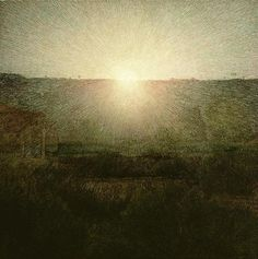 art-and-fury:  The Rising Sun - Giuseppe Pellizza da Volpedo