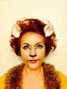 Lion makeup for a lion shoot with Allie Halloween 2015, Holidays Halloween, Halloween Makeup, Halloween Costumes, Halloween Treats, Costume Makeup, Cosplay Costumes, Lion Makeup, Lion King Costume