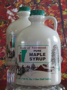 One Gallon of Pure VT Maple Syrup by MapleViewSugarWorks on Etsy, $55.00