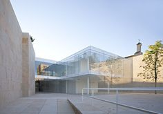 Offices for the Junta de Castilla y Leon in Zamora, Spain by Alberto Campo Baeza Architects