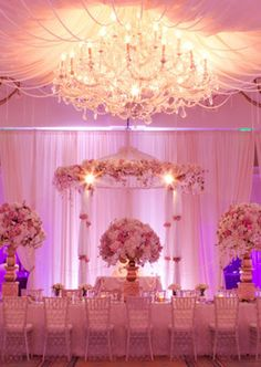 Beautiful chandelier for wedding at the Belo Mansion in Dallas, Texas. www.beyondld.com wedding_lighting_feature