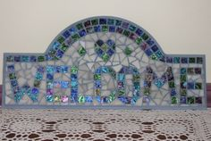 Mosaic welcome sign | Flickr - Photo Sharing!