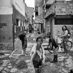 Children in the favelas of Brazil