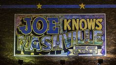 Great Nashville themed art for home or office. Customize image style, size and framing options to fit your decor.