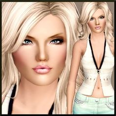 S.J Parks - female model by Margeh75 at BTB Sims - Sims 3 Finds