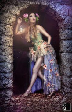 Vestido Ninfa de Primavera por FairyCaveShop en Etsy