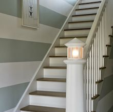 Repeindre un escalier pour le relooker conseils et tapes suivre - Idee deco mur escalier ...