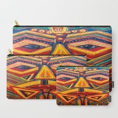Warrior mask Carry-All Pouch