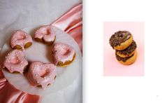 Interior spread for Raised 'n' Glazed, a book for the donut lovers of the world.