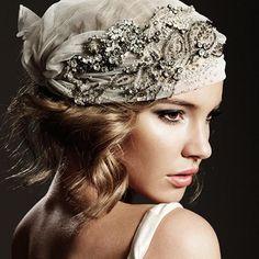 Johanna Johnson headpiece