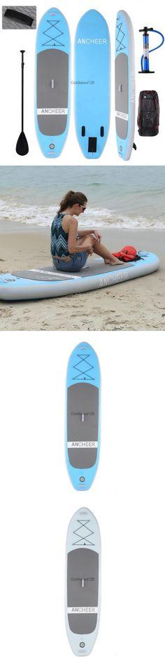 Stand Up Paddleboards 177504: Us 10Ft Aqua Marina Vapor 10 Sup Inflatable Stand Up Paddle Board W 3Pc Paddle -> BUY IT NOW ONLY: $266.92 on eBay!