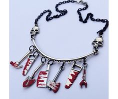 Choose Your Weapon Necklace
