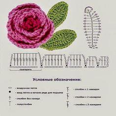 Crochet Flower Patterns Part 1 - Beautiful Crochet Patterns and Knitting Patterns Crochet Diy, Mandala Au Crochet, Beau Crochet, Crochet Flower Tutorial, Crochet Leaves, Crochet Flower Patterns, Love Crochet, Crochet Gifts, Irish Crochet