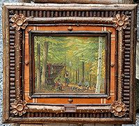 I love these twig frames!   Ralph Kylloe Rustic Design and Gallery
