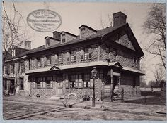 Daniel Pastorius House (Green Tree Tavern), Germantown - A. D. White Architectural Photographs, Cornell University Library