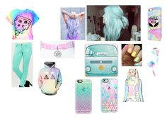 """Pastel"" by paige-york0215 ❤ liked on Polyvore featuring beauty, Sugarpills and Casetify"