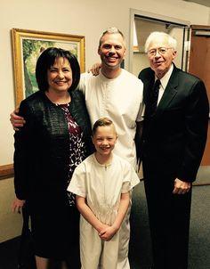 Wayne & Kathy with son Steve and grandson. 2017