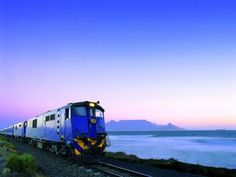 The Blue Train from Cape Town to Pretoria