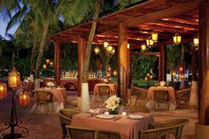 Tamarindo restaurant provides traditional Mexican cuisine in a warm atmosphere to guests of #SunscapeResorts. #UnlimitedRomance