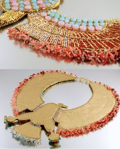 Vulturess  Egyptian Vulture Necklace Bead door LuxVivensFashion, $1500,00