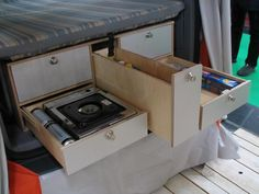 VW Caddy camping kitchen