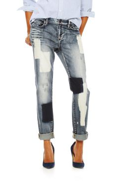 12 Pairs of Patchwork Jeans that Don't Look Costume-y - Fashionista