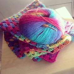 Crochet Rainbow Granny Blanket - The Crafty Mummy