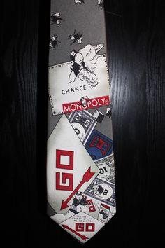 Monopoly Necktie