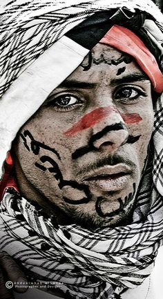 Arab face by abdualwhab albanaa We Are The World, Kinds Of People, People Around The World, Around The Worlds, Beauty Around The World, Human Art, Face And Body, Face Face, Interesting Faces