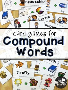 As our younger readers progress through the first grade, their texts begin to include longer words. Sometimes, these are compound words, words that are made up of smaller words. Because compound words look long, young readers will sometimes shut down. This is what happened with ALuv {currently and the end of 1st grade}.     We'd already worked through breaking apart some …
