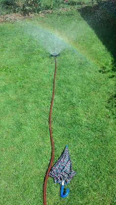 sprinkler setup