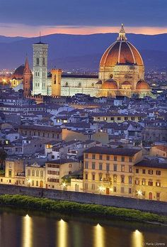 Basilica di Santa Maria del Fiore is the main church of Florence, Italy