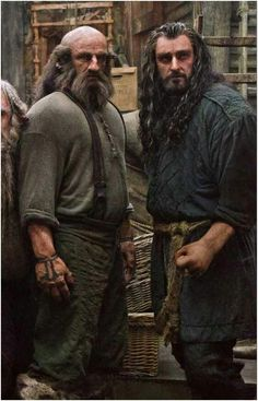 The Hobbit   Dwalin and Thorin