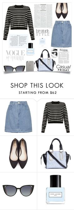 """""""Casual"""" by fantasticbabe on Polyvore featuring Topshop, TIBI, Beyond Skin, See by Chloé, Fendi, Anja, Chanel, Marc Jacobs and Native Union"""