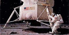 Výsledek obrázku pro Ward Kimball moon landing