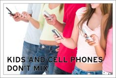 Cell phones are even more dangerous for our kids than they are for us, as adults. Just think of how much smaller they are and how much they absorb relative to us!