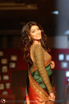 Shriya Saran in saree hot Pictures & Stills