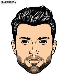 The Chin Dimple Beard In Short Beard Styles