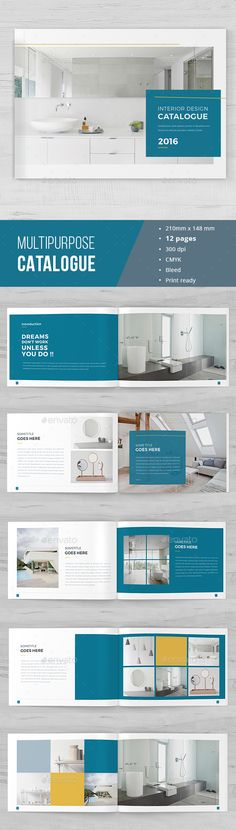 Minimal Catalogue Brochure Template InDesign INDD. Download here: http://graphicriver.net/item/minimal-catalogue-brochure/16776184?ref=ksioks