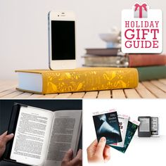 Gadget Gifts for Bookworms  (gadgets, ideas, inventions, cool, fun, amazing, new, interesting, product, design, clever, practical, useful, tech, technology, electronic, gizmo, brilliant, genius)