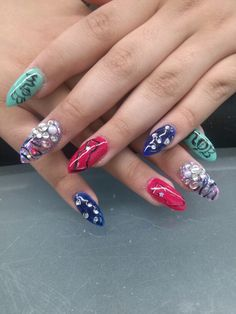 Nails by Bonnie Harris located Reedley Ca