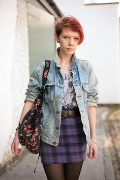 rad jacket and skirt