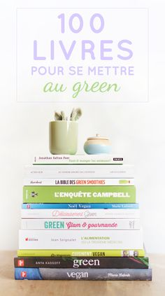 Retrouvez plus de 100 livres pour bouquiner green ! Que l'on ait envie de s'informer sur le végétarisme ou sur le végétalisme, que l'on souhaite tester de nouvelles recettes vegan et/ou sans gluten, que l'on rêve de devenir la reine de la pâtisserie crue ou que l'on veuille comprendre une bonne fois pour toute ce qu'il se passe dans notre organisme, il existe des tas de bouquins extra pour améliorer nos connaissances et compétences green !