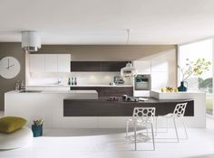 Cuisine plan de travail and loft on pinterest - Modele plan de travail cuisine ...